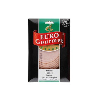 Euro Goumet Sliced Turkey Fillet 130 Gr