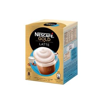 Nescafe Gold Latte Unsweetened 8x19.5g