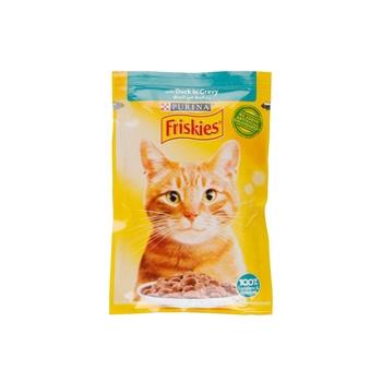 Friskies Cat Cig Duck Pouch 85g