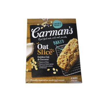 Carman'S Oat Slice Golden Oat & Coconut 210