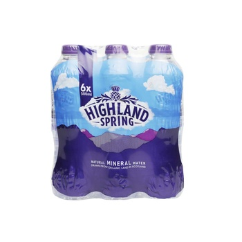 Highland Spring Still Water Pet 6*500ml