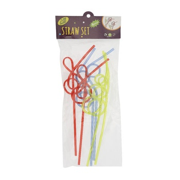 Straw Assorted Shapes Pack