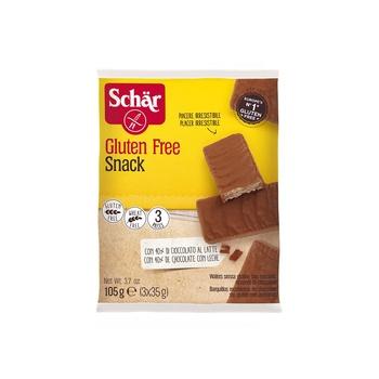 Schar Snack Chocolate Bar Gluten Free 105g