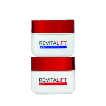 REVITALIFT Day And Night Anti Ageing Creme 50ml Pack Of 2
