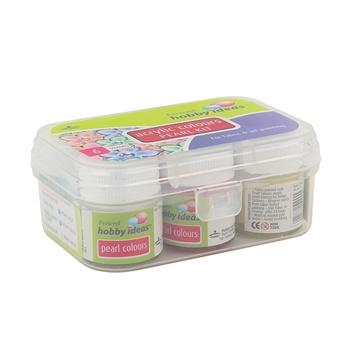 Pidilite Acrylic Colors Pearl Kit - 6 Colors