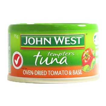 John West Tuna Tempters Oven Dried Tomato Basil 95g