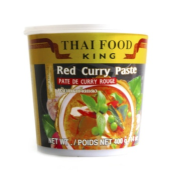 Thai Food Red Curry Paste 400g