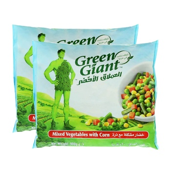 Green Giant Mix Vegetable With Corn 2x900g