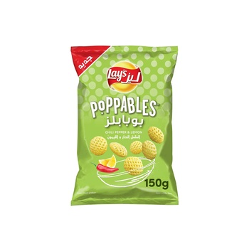 Lays Poppables Chili Pepper  & Lemon 150g