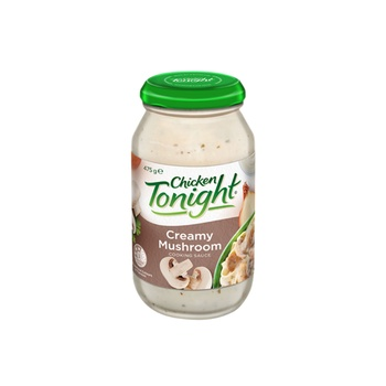 Chicken Tonight Creamy Mushroom Cooking Sauce 475g