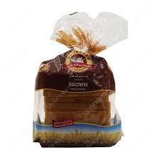 Al Jadeed Sliced Brown Bread Small