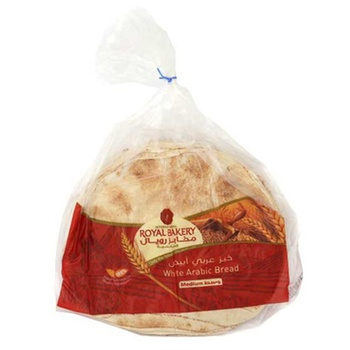 Royal Bakery Arabic Bread White Medium