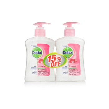 Dettol Skincare Handwash 2 x 200 ml @ 15% Off