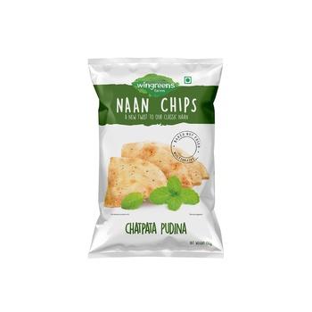 Wingreens Chatpata Pudina Naan Chips150g