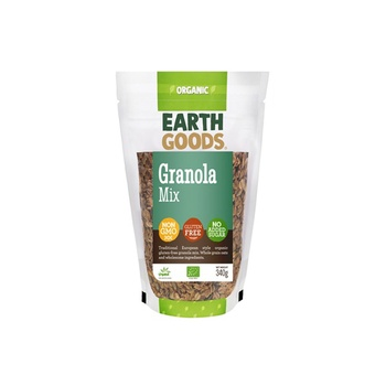 Earth Goods Organic Gluten-Free Granola Mix 340g