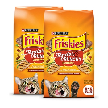Purina Friskies Tender And Crunchy 3.15 lbs Pac of 2