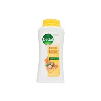Dettol Nourish Antibacterial Body Wash Honey & Shea Butter 250 ml