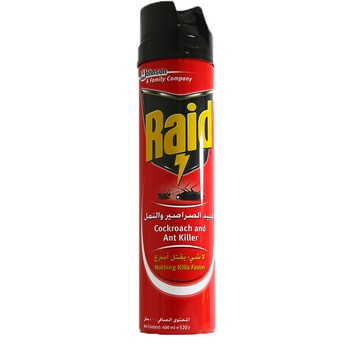 Raid Cockroach Killer Fast Kill 24 x 400 ml