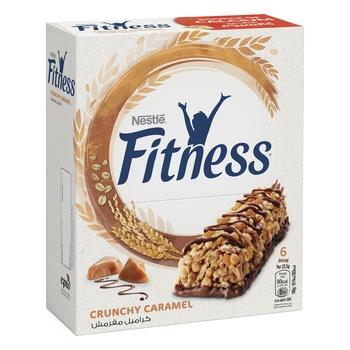 Nestle Fitness Crunchy Caramel Cereal Bar 6'S