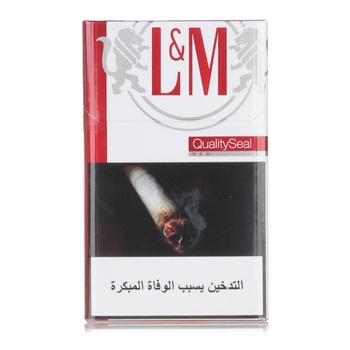 L&M Cigarettes Red King Size 20s