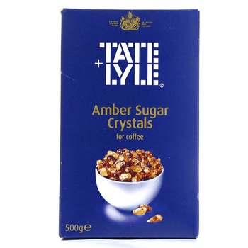 Tate + Lyle Amber Sugar Crystals For Coffee 500g