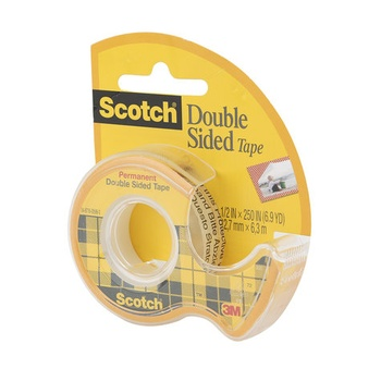 3M Scotch Permanent Double Sided Tape - 12.7mm X 6.7 m