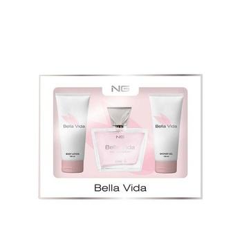Next Generation Perfumes Bella Vida 3 Piece Gift Set For Women
