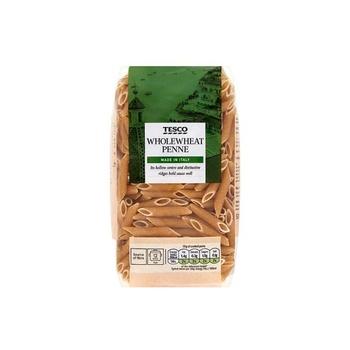 Tesco Pasta Whole Wheat Penne 500g
