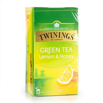 Twinings Green Tea Honey Lemon 25's