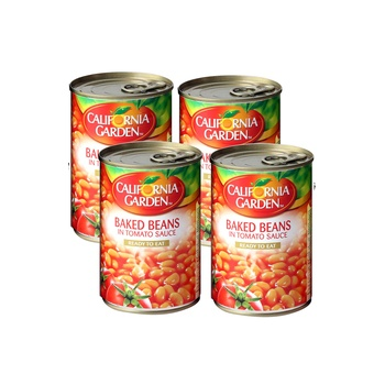 California Garden Canned Baked Beans In Tomato Sauce 220g Pack Of 2