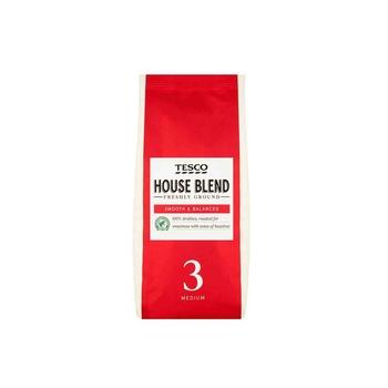 Tesco House Blend Ground Coffee 227g