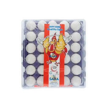Saha Dubai Medium White Egg 30 pcs