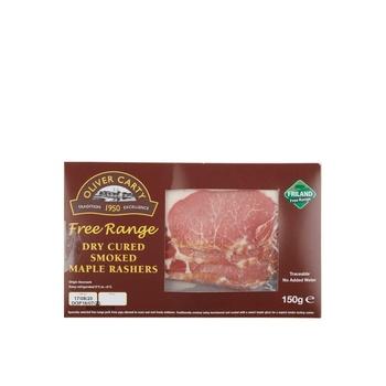 Ocarty Free Range Dry cured Smoked Mapple Rashers 150g
