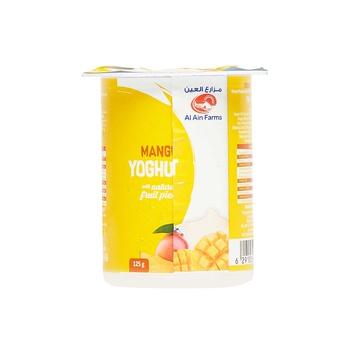 Al Ain Mango Yoghurt 125Gms