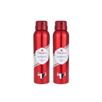 Old Spice Deodorant Original Spray 150ml Pack Of 2