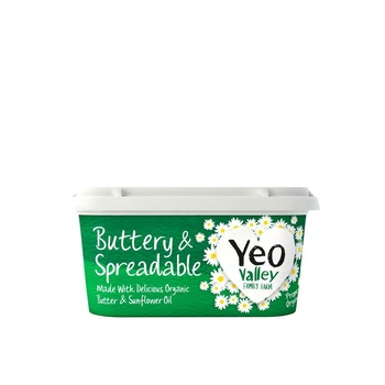 Yeo Organic Spreadable Butter 500g