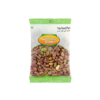 Goodness Foods Pista Peeled (Plain) 100g