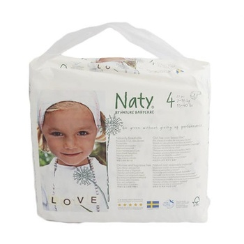 Naty Diapers Size 4 27s