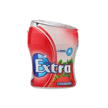 Wrigleys Extra Biggie Bottle Strawberry 84g