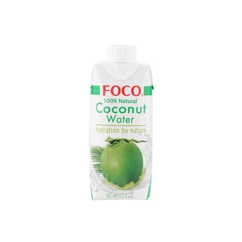 Foco UHT Coconut Water Original 330ml