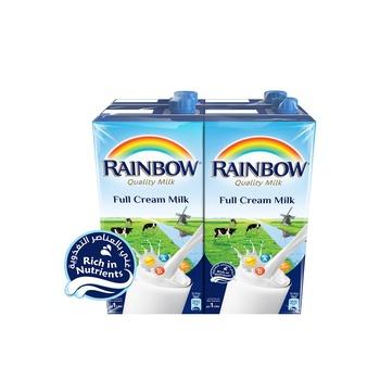 Rainbow milk full cream 1l