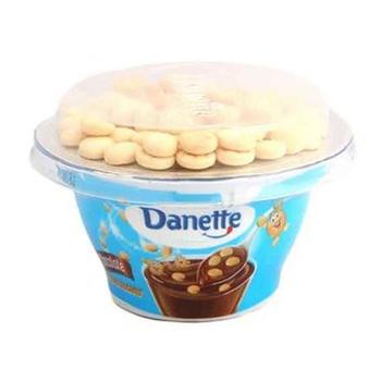 Danette Vanilla Topper 124g+10g Bsct