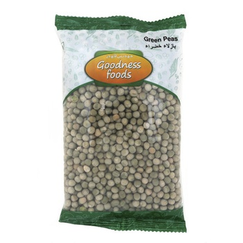 Goodness Foods Green Peas 500g