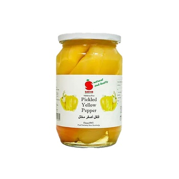 Sava Pickled Yellow Peppers 720ml