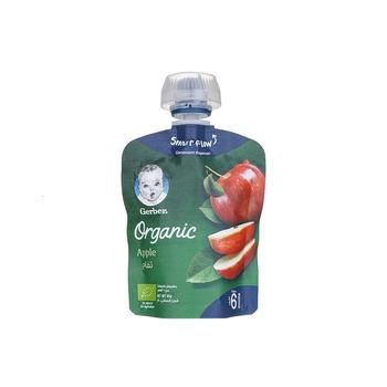 GERBER Organic Apple Puree Baby Food 90g