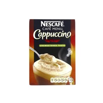 Nescafe Cappuccino Unsweetened Taste 8 X 16.5g