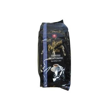 Vittoria Decaffeinated Espresso - Special Bar Coffee Beans 1kg