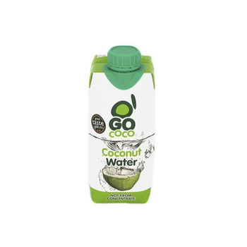 GoCoco Coconut Water Tetra Pack 330 ml