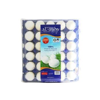 Al Waha White Eggs Large Size 1 X 30 pcs