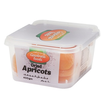 Goodness Foods Dried Apricort (Kirici) 400g